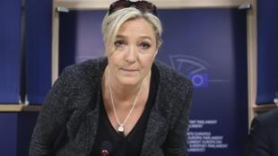 Marine Le Pen, leader of Front National