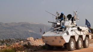 Unos 11.500 cascos azules supervisan el Sur del Líbano, una zona fronteriza con Israel.