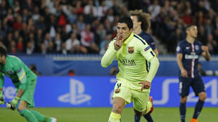 FC Barcelona's Luis Suarez added a double in the second half.