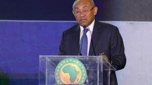 Le président de la CAF, le Malgache Ahmad.