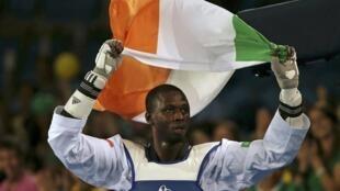 Issoufou Alfaga Abdoulrazak participait à ses premiers Jeux olympiques à Rio.
