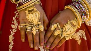 Le gouvernement indien n'a récupéré que 7 tonnes d'or sur les 24 000 tonnes supposées aux mains des temples et des foyers indiens.