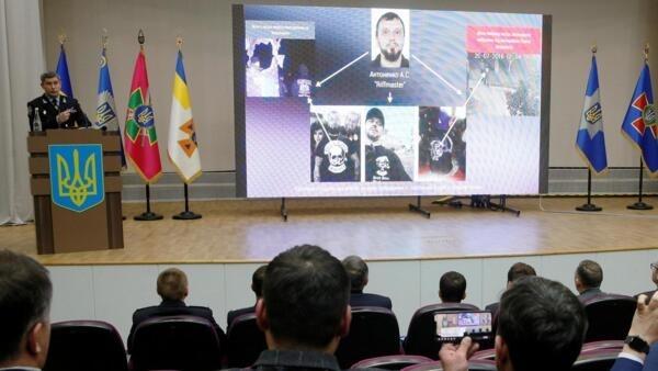 Заместитель главы Нацполиции Евгений Коваль на пресс-конференции, посвященной расследованию убийства Павла Шеремета, Киев, 12 декабря 2019 г.