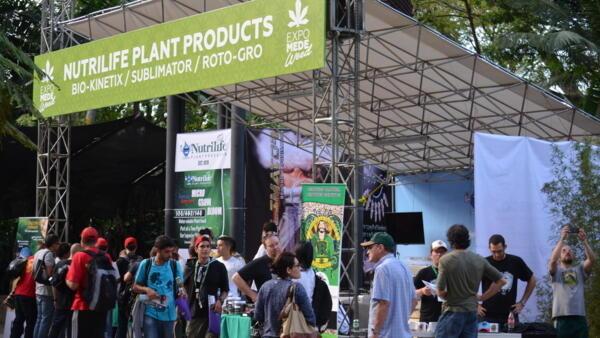 Le premier Salon international du cannabis thérapeutique.