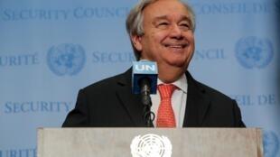 Antonio Guterres: «Les Nations unies n'abandonneront pas le peuple congolais».