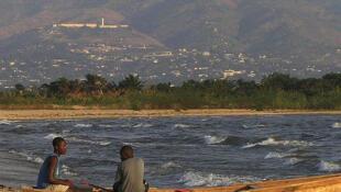 Fishermen at Lake Tanganyika
