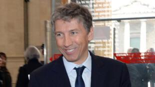 L'homme d'affaires français Stéphane Courbit, le 20 février 2015.