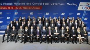 A reunião dos ministros das Finanças do G20 foi encerrada neste sábado, 16 de fevereiro de 2013, em Moscou.