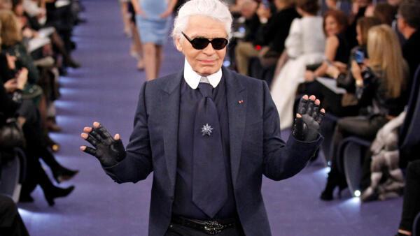 Karl Lagerfeld en 2012