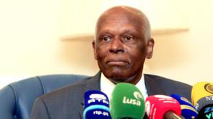José Eduardo dos Santos, antigo Presidente de Angola.