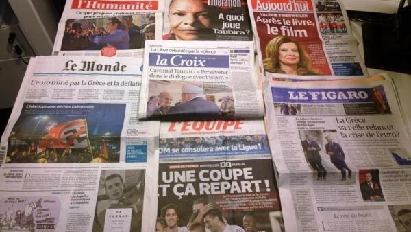 Diários franceses 06/01/2015