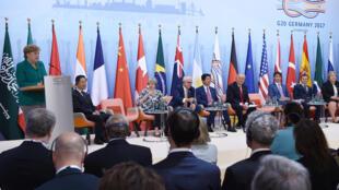 Fim da cimeira do G20, este sábado, 8 de julho, em Hamburgo, Alemanha.