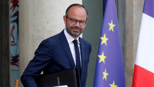 Thủ tướng Pháp Edouard Philippe sau cuộc họp nội các hàng tuần tại Điện Élysée (Paris, France), ngày 03/10/2018.