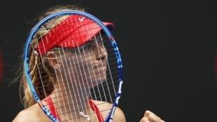 Мария Шарапова на турнире в Мельбурне, 21 января 2015.