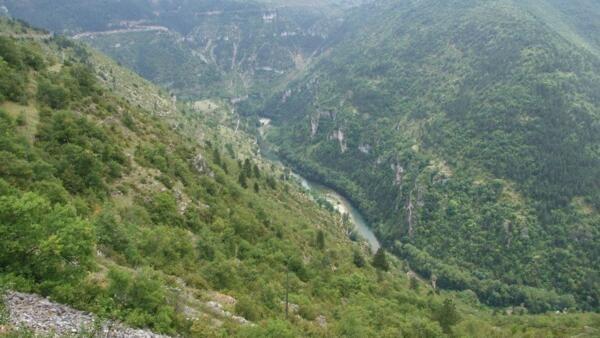 The Gorges du Tarn in the Cévennes