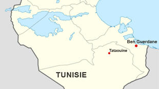 Carte de la Tunisie, Ben Guerdane