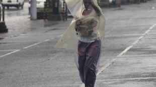 Heavy rains have already started in capital, Manila