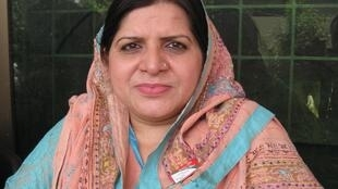 Mahbano is standing for the secular MQM in Lahore