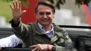 Tổng thống đắc cử Brazil Jair Bolsonaro, Rio de Janeiro, ngày 28/10/2018