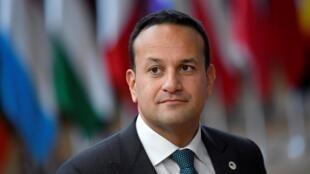 Le Premier ministre irlandais Leo Varadkar était depuis 2016 à la tête d'une coalition centriste.
