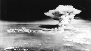 بمباران اتمی هیروشیما در تاریخ ۶ اوت سال ۱۹۴۵