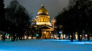Catedral de San Isaac en San Petersburgo.