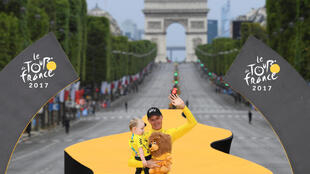 Chris Froome is only the fifth man in its 104 year history to win the Tour de France four times.