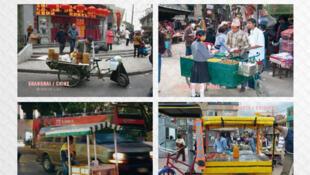 Food trucks du monde - photographie extraite de l'ouvrage «Voyage au coeur de la cuisine de rue».