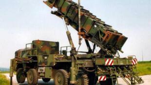 """美国""""爱国者""""导弹防御系统(资料图)"""