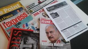 Capas de magazines news franceses de 13 de janeiro de 2018