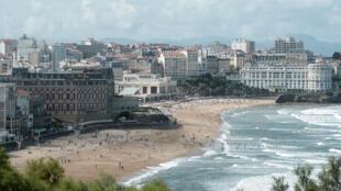 Thành phố biển Biarritz (Pháp), an ninh siết chặt, trước thượng đỉnh G7 lần thứ 45, 24 đến 26/08/2019..