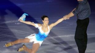 La patinadora Sarah Abitbol.