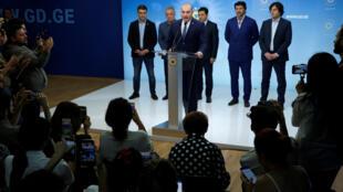 Мамука Бахтадзе, новый премьер-министр Грузии
