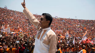 Andry Rajoelina ruled as Madagascar president between 2009 and 2014l
