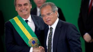 Bolsonaro e Guedes, duas personalidades fortes unidas apesar das divergências