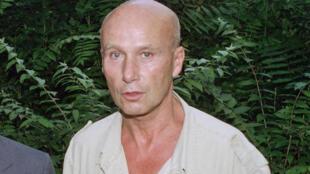 L'écrivain Gabriel Matzneff à Paris, en 1990