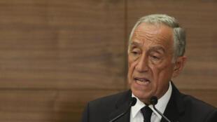 Marcelo Rebelo de Sousa, Presidente de  Portugal en noviembre de 2019
