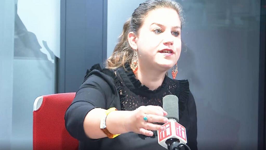 Mathilde Panot,vice-présidente du groupe parlementaire LFI à l'Assemblée nationale