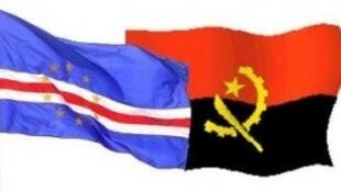 Bandeiras de Cabo Verde e de Angola