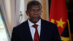 Presidente angolano João Lourenço em Paris