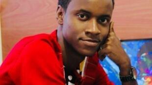 Le développeur guinéen Serge Abraham Thaddée, metteur au point du jeu vidéo «African Heroes».
