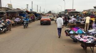 Le marché de Bouaké, en août 2019. (Image d'illustration)