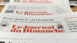 El semanario francés JDD, Journal du dimanche.