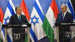 Известный своими крайне правыми взглядами Виктор Орбан (слева) считает Израиль своим союзником