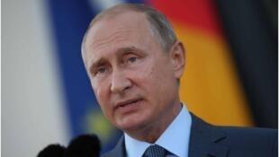 Vladmir Poutine Shugaban kasar Rasha