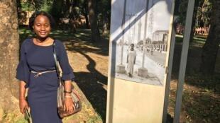 Godelive KasangatiI Kabena: «C'est comme si je me redécouvrais moi-même dans ces photos».