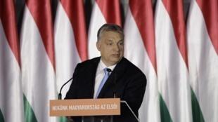 Viktor Orbán (photo) projette d'envoyer un astronaute hongrois dans l'espace.