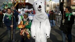 Final de semana foi marcado por eventos sobre a COP21 em toda a França.