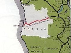 O Corredor do Lobito abrange Angola, a Zâmbia e a RDC