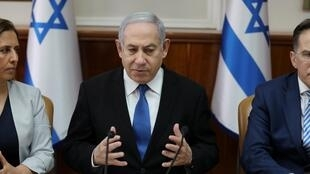 O primeiro-ministro israelense, Benjamin Netanyahu, tenta evitar novas eleições legislativas